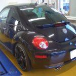 VW ビートル天井 修理