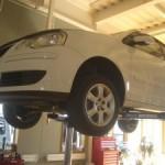 VW ポロ エンジン交換 1