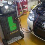 VW  ゴルフ TSI GT エンジン修理 1