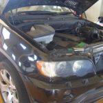 BMW X5 オイル漏れ修理