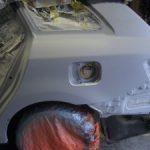 アベンシス 事故 修理 3