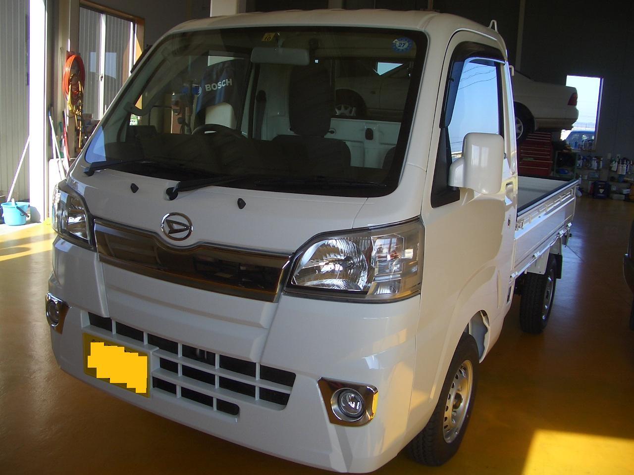 新型 ハイゼットトラック 納車 | 澤野自動車-yokomi.com