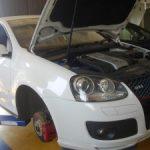VW ゴルフ5 GTI 車検メンテナンス