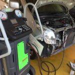 ワゴンR エアコン修理