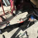 ミライース 追突修理2