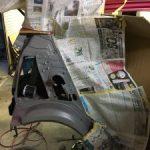ミライース 追突修理3