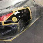 Z33 リアフェンダー塗装