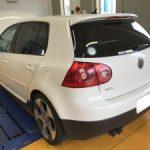 VW ゴルフ GTi 天井 張替
