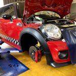 MINI 車検と修理