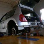 ルノー クリオ V6 タイミングベルト交換