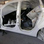 ホンダ エディックス 事故 修理 2
