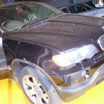 BMW X5 ナビ 取付