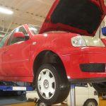 VW ポロ エアコン修理