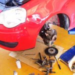 VW ポロ ドライブシャフトブーツ交換