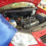 VW ポロ タイミングベルト交換