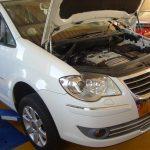 VW トゥーラン DSG オイル交換